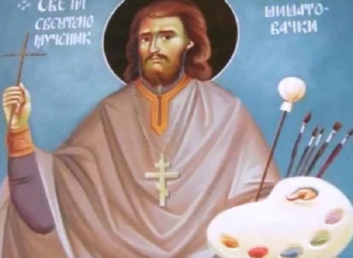 Икона Светог Рафаила Шишатовачког и Дероњског