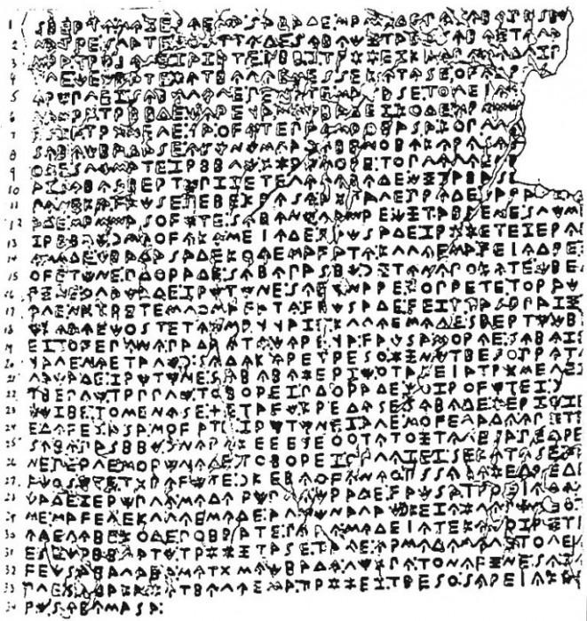 О СРБСКОМ КАМЕНУ ИЗ СИРБИНА: Законик из VIII века пре Христа! 3